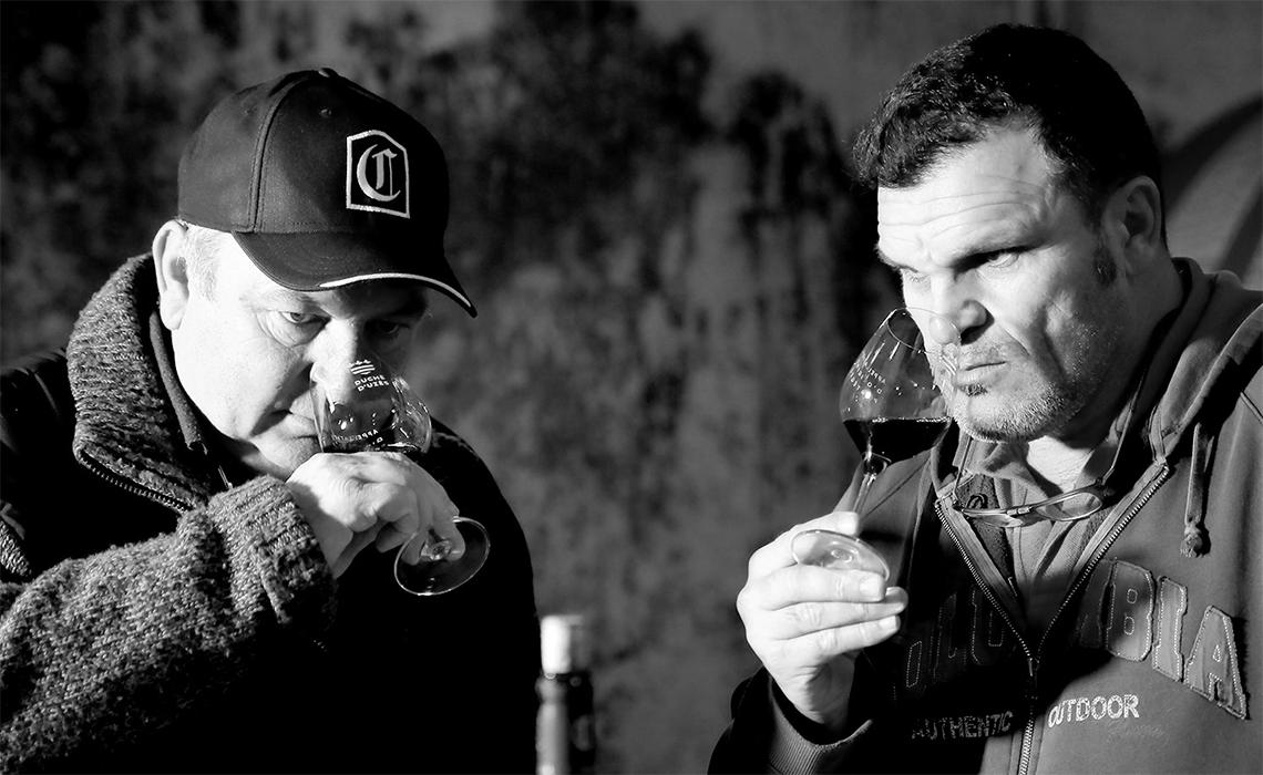 Le Vin en Cave